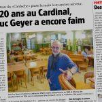 Le journal L'express fait un reportage sur le Cardinal